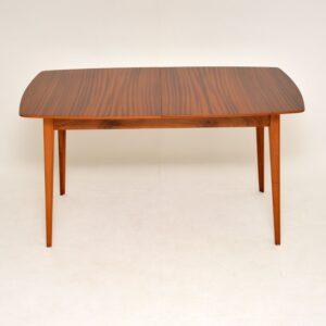 retro vintage mahogany extending dining tale by vanson