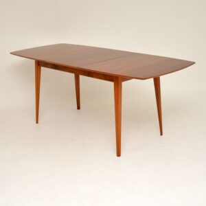 1950's Vintage Mahogany Dining Table by Peter Hayward for Vanson