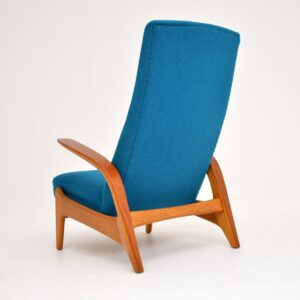 rastad and relling gimson slater rock n relax vintage retro armchair
