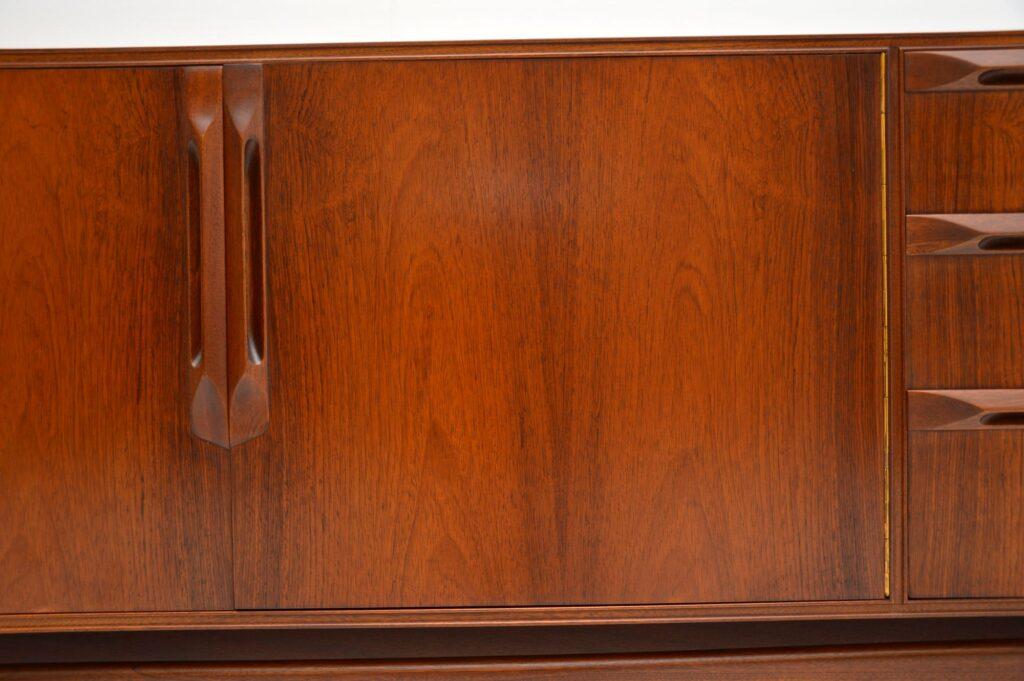 retro vintage rosewood sideboard mcintosh