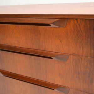 1960's Vintage Rosewood Sideboard by McIntosh