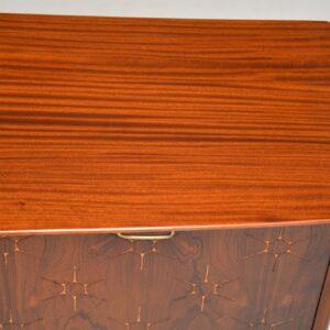 retro vintage rosewood mahogany starburst sideboard peter hayward vanson