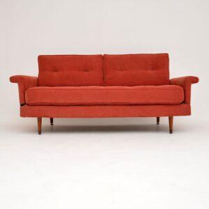 retro vintage danish sofa bed