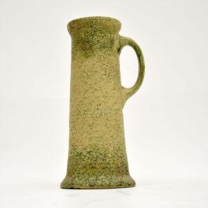 antique retro vintage glazed ceramic vase jug pitcher