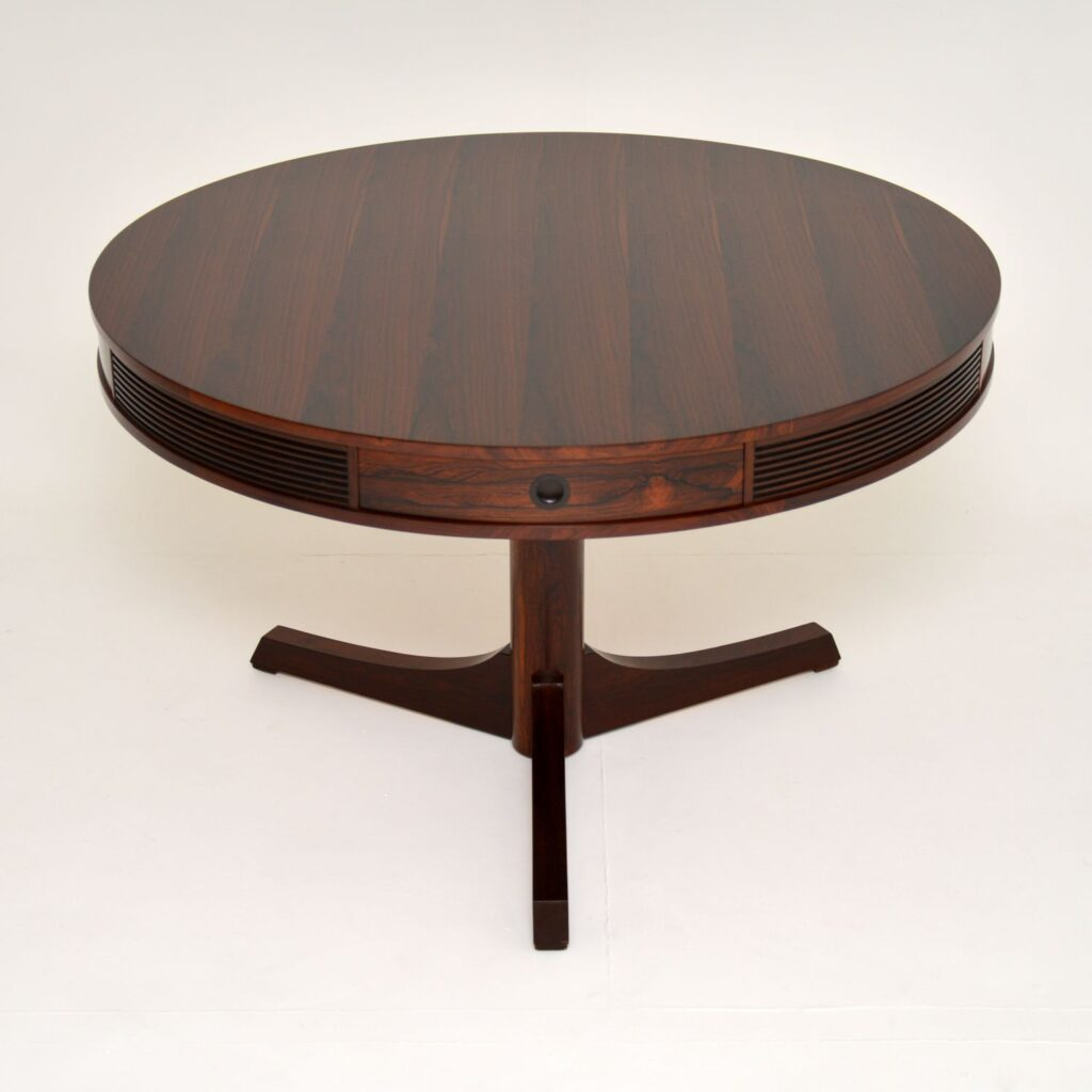 archie shine robert heritage drum dining bridgeford dining table