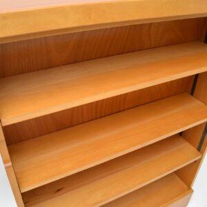 retro vintage open bookcase frank guille kandya