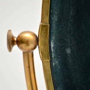 retro vintage antique brass vanity mirror peerage