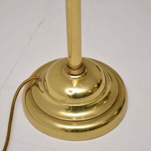 1970's Vintage Brass Adjustable Floor Lamp