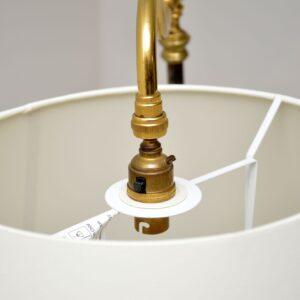 1970's Vintage Adjustable Brass Floor Lamp