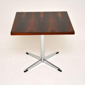 retro vintage rosewood chrome coffee table side table howard keith