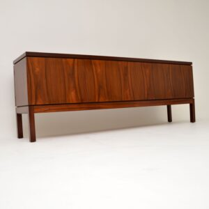 retro vintage rosewood midcentury sideboard by robert heritage for archie shine
