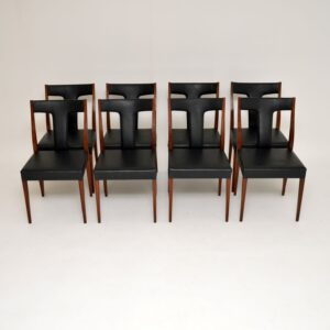 retro vintage archie shine robert heritage danish rosewood dining chairs