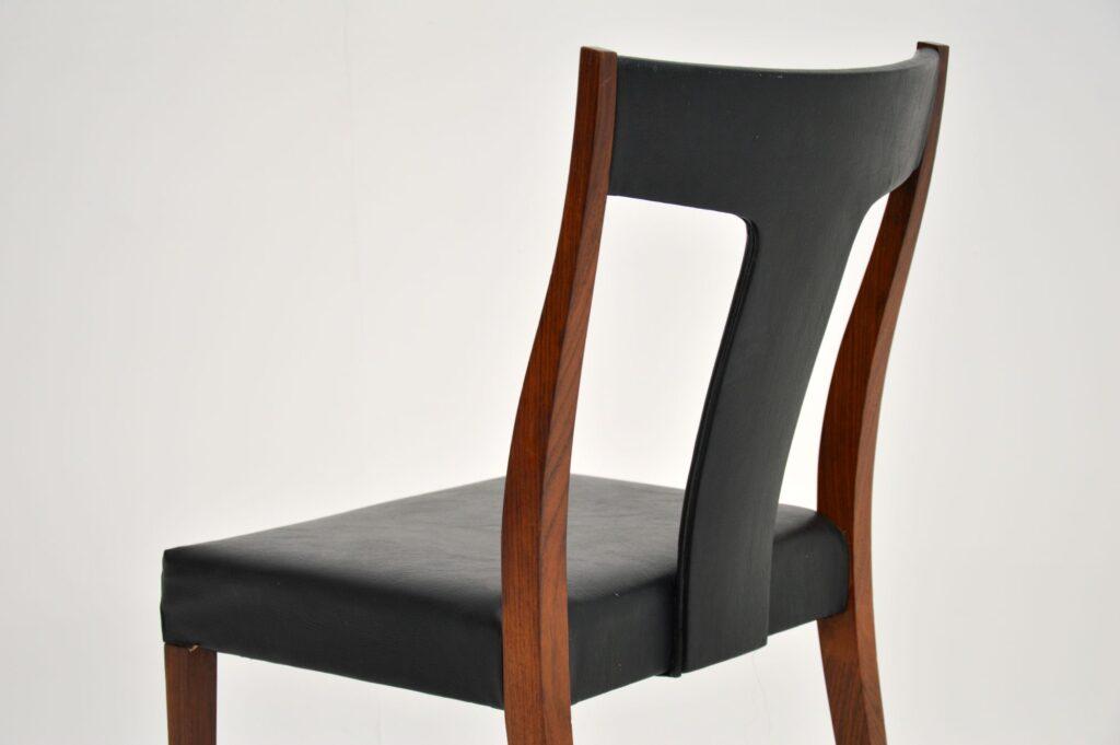 retro vintage archie shine robert heritage danish rosewood dining chairs