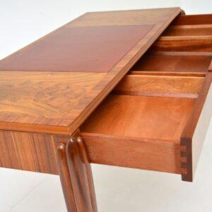 Art Deco Vintage Walnut Writing Table / Desk by McIntosh