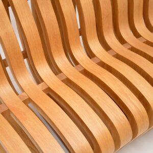 nina moeller designs curve bench retro vintage