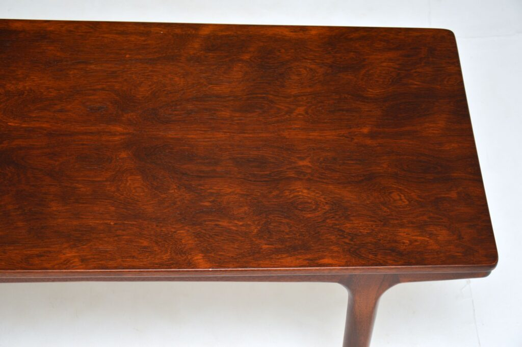 rosewood retro vintage coffee table by mcintosh