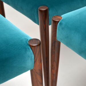 6 Vintage Rosewood Dining Chairs by Robert Heritage for Archie Shine