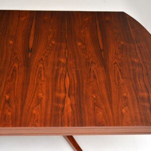 1960's Rosewood Extending Dining Table by Robert Heritage