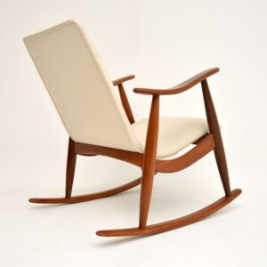 1960's Dutch Rocking Chair by Louis Van Teeffelen
