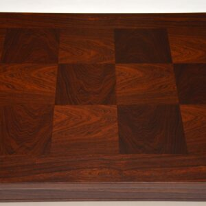 1960's Vintage Rosewood Coffee Table by Heggen