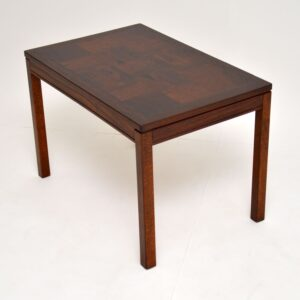 1960's Vintage Rosewood Coffee / Side Table by Heggen