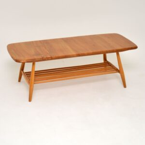 retro vintage ercol coffee table