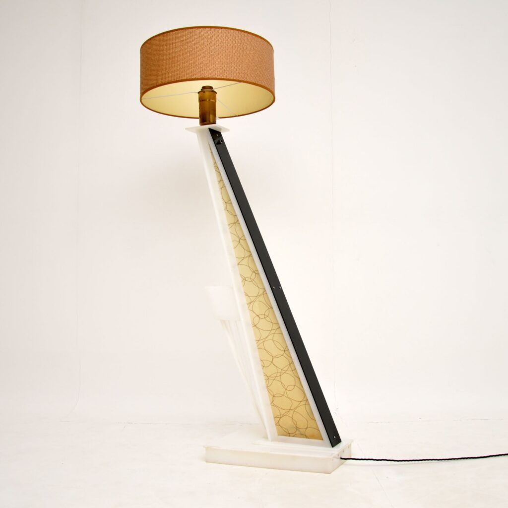 vintage retro moss floor lamp