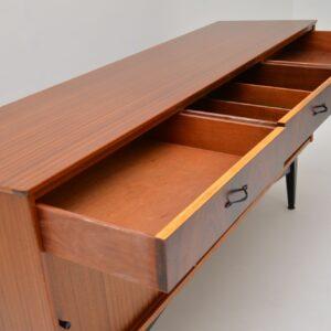 retro rosewood vintage danish sideboard