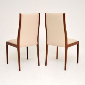 1960's Pair of Danish Rosewood Side Chairs / Dining Chairs