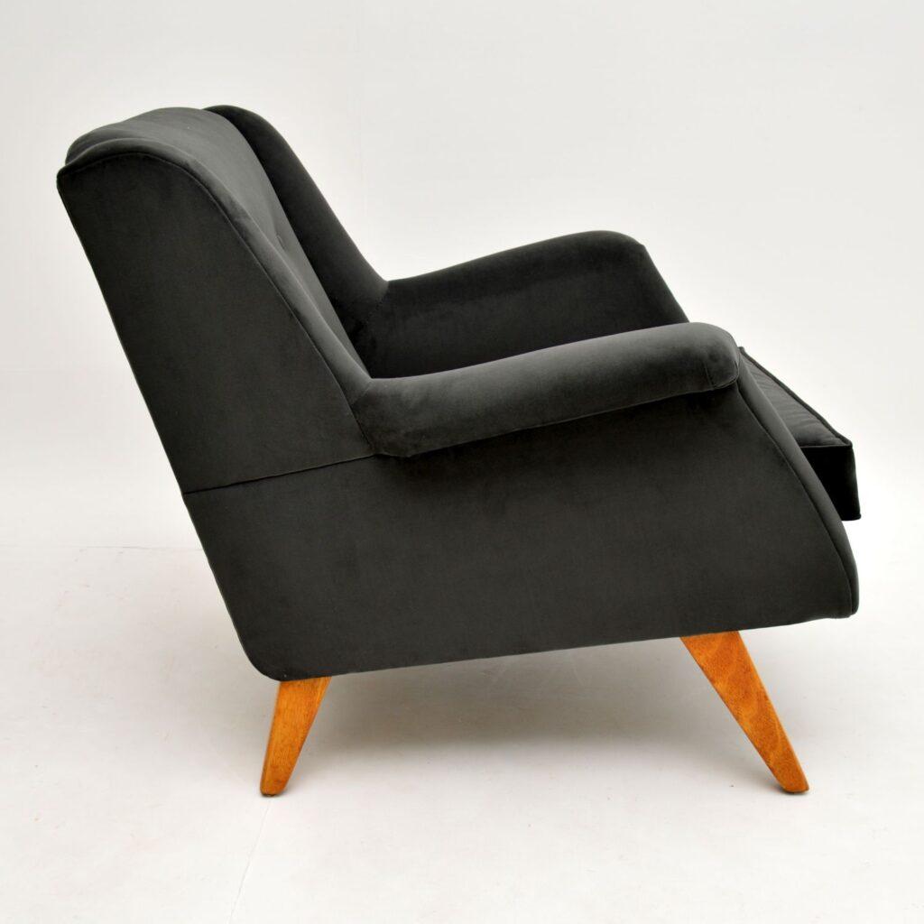 pair of retro vintage g- plan 1950's armchairs