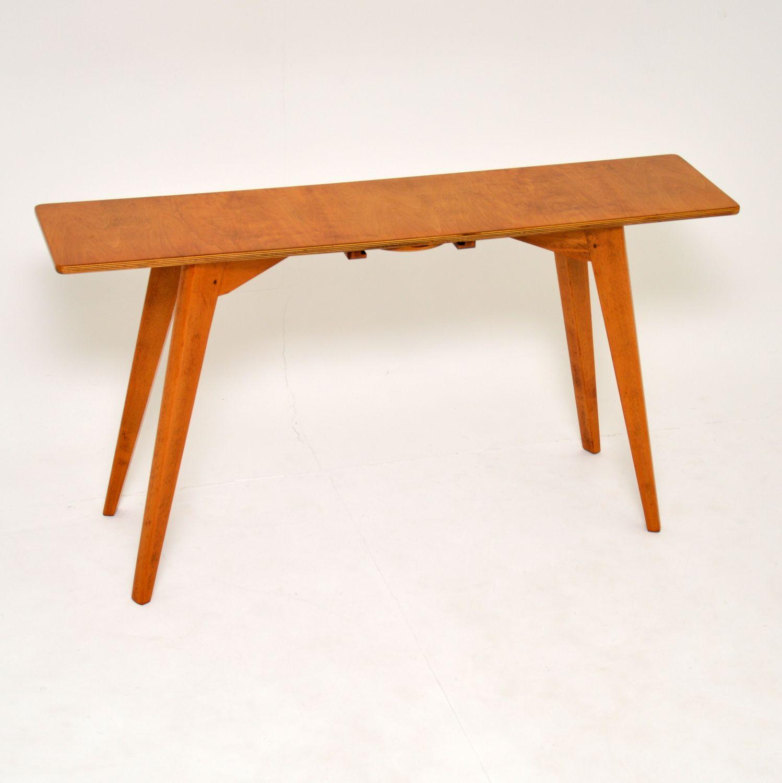 retro vintage console side table 1950's