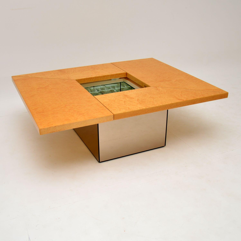 retro vintage paul michel coffee table