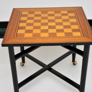 1960's Vintage Games / Chess Table