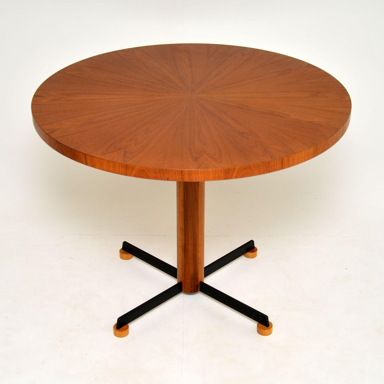 danish retro vintage teak dining table