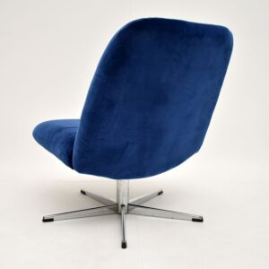 1960's Vintage Swivel Lounge Chair