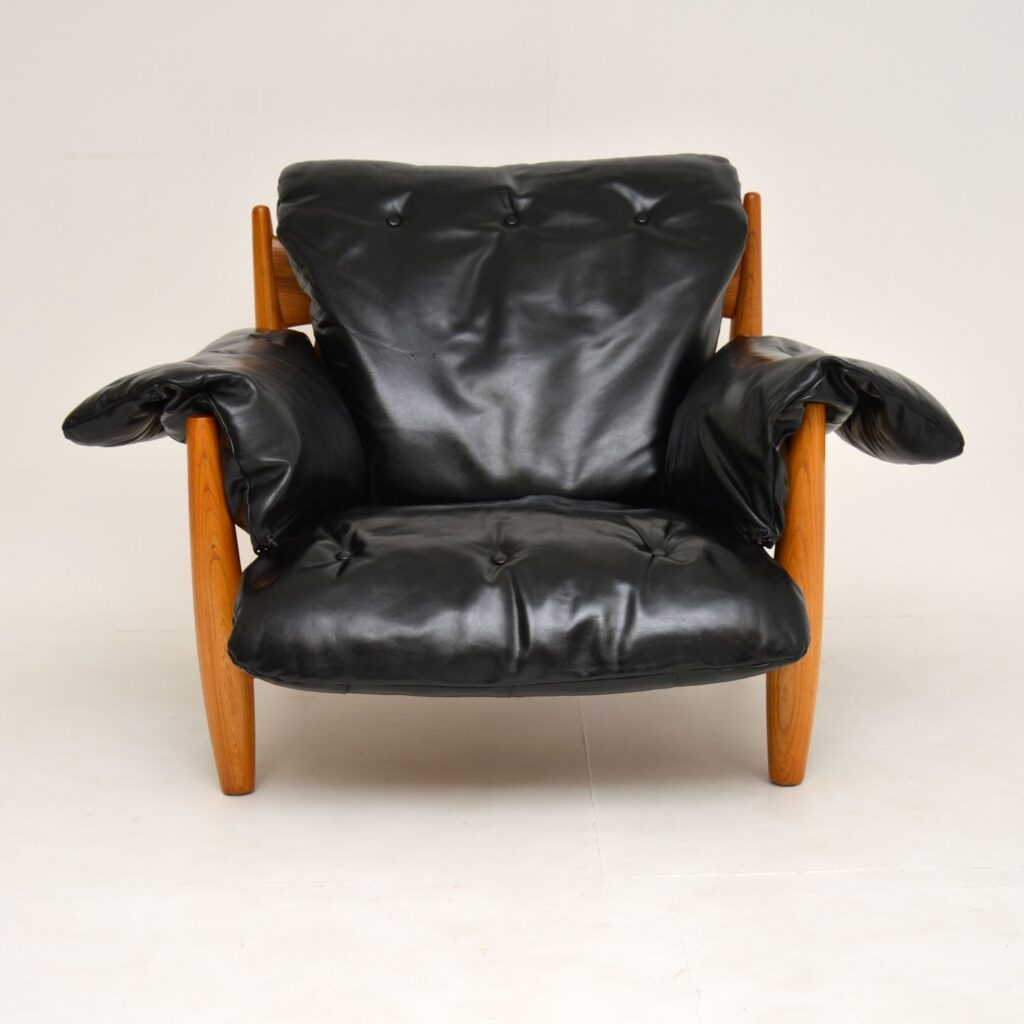 retro vintage sergio rodrigues sheriff chair armchair