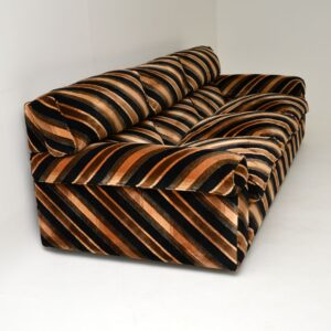 retro vintage howard keith everest sofa armchairs coffee table lounge suite