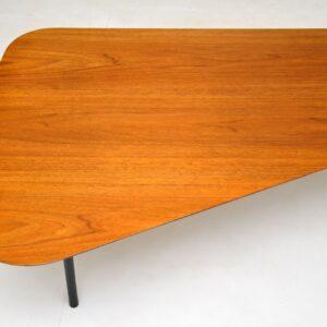 alexander girard knoll walnut vintage retro coffee table