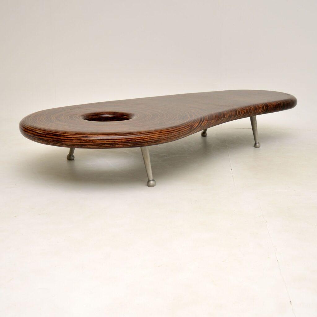 retro vintage clayton tugonon coffee table