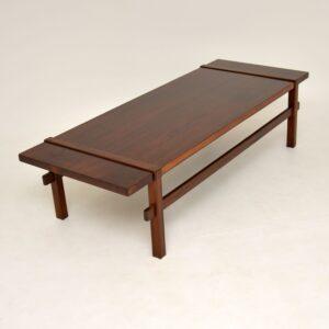 1960's Danish Rosewood Reversible Coffee Table