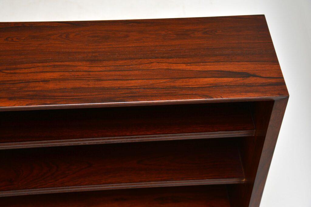 pair danish rosewood retro vintage bookcase poul cadovius cado