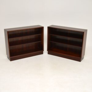 Pair of Danish Rosewood Bookcases by Poul Cadovius