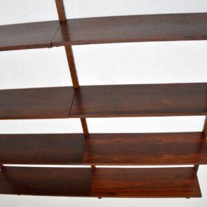 danish retro vintage rosewood ps wall shelving royal system