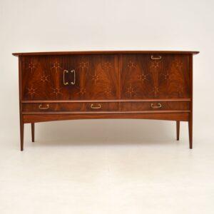 Vintage Rosewood & Mahogany Sideboard by Peter Hayward for Vanson