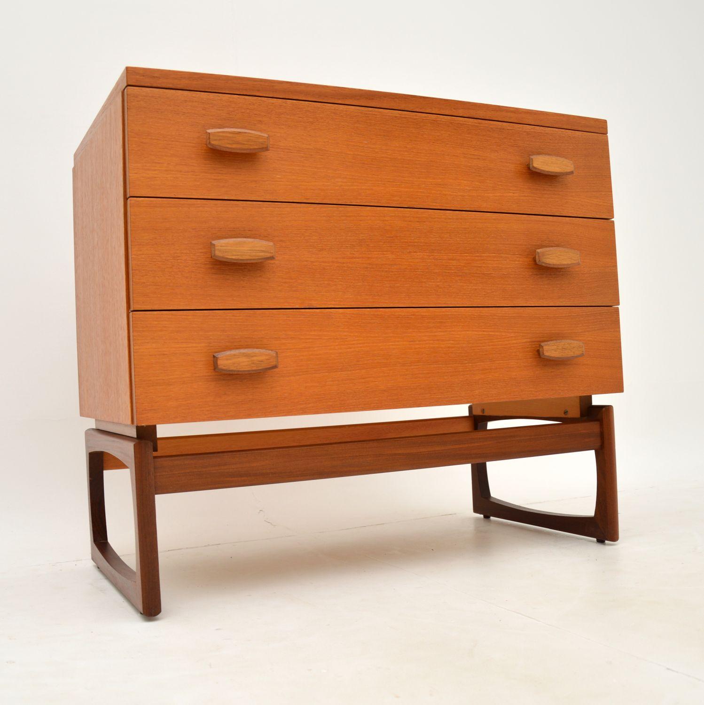 retro vintage danish teak chest of drawers g plan quadrille