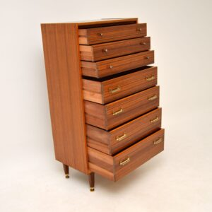 Walnut Tallboy Chest of Drawers by G- Plan Vintage 1960's