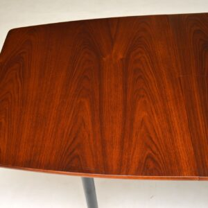 Robin Day for Hille Stamford Dining Suite in Leather & Rosewood