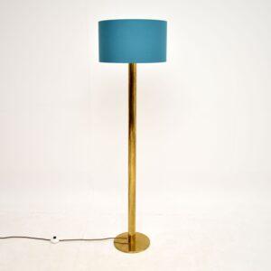 Vintage Brass Floor Lamp c. 1960's