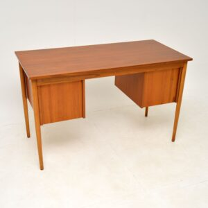 Danish Teak Desk Vintage 1960's