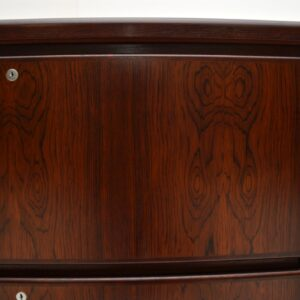 Danish Vintage Rosewood Filing Chest of Drawers